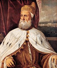 Portrait of Francesco Donato, Doge of Venice