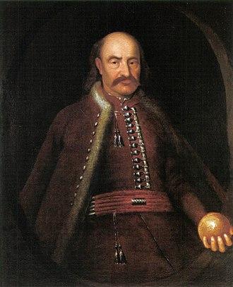 Koháry - Image: Portrait of István Koháry 18. c
