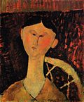 Portrait of Mrs. Hastings 1915 Amedeo Modigliani.jpg