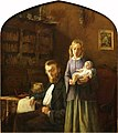 Portrait of Pierre Cuypers, Rosa van de Vin and their Daughter Rosa Cuypers by Frans Cuypers Cuypershuis 0357.jpg