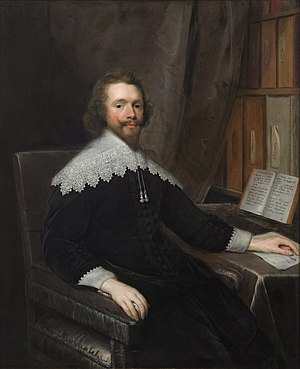 Royal College of Physicians - Portrait of a Physician in His Library by Cornelis Janssens van Ceulen, one of the significant portraits in the Royal College of Physicians' collection