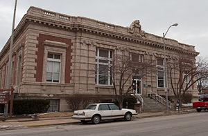 United States Post Office (Champaign, Illinois) - Image: Post Office Champaign Illinois 4119