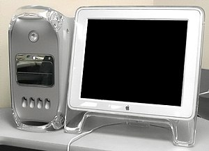 Apple displays - The Apple Studio Display (flat panel)
