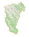 Powiat sanocki location map.png