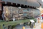 Pratt & Whitney J58-JT11D-20K turbojet engine, 1962 - Lockheed SR-71A Blackbird, 1966 - Evergreen Aviation & Space Museum - McMinnville, Oregon - DSC01040.jpg