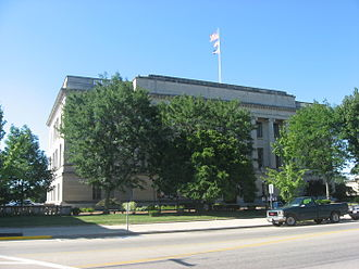 Preble County, Ohio - Image: Preble County Courthouse