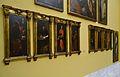 Predel·la amb sants del retaule major de la cartoixa de Portaceli, Museu de Belles Arts de València.JPG