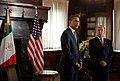 President Barack Obama meets President Felipe Calderón.jpg