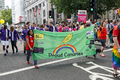 Pride in London 2016 - Proud Canaries (Norwich City F.C. fans) in the parade.png