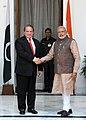 Prime Minister Modi and Pakistani PM Nawaz Sharif in New Delhi in May 2014.jpg
