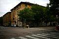 Primo quartiere popolare via Solari Vista di insieme da via Stendhal.jpg