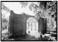 Prince William's Parish Church (Ruins), Sheldon, Beaufort County, SC HABS SC,7-SHELD,1-2.tif