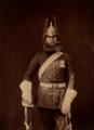 Private Michael McNamara (three-quarter length) - 5th Dragoon Guards.png