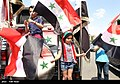 Pro-government Syrians demonstration in Damascus after US missile strike 01.jpg
