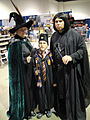 Professor McGonagall, Harry Potter, Severus Snape (5134038581).jpg