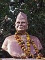 Pruthvisinh azad bust at bhavnagar 2.jpg