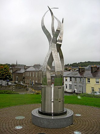 Tidy Towns (Ireland) - Tidy Towns monument in Westport