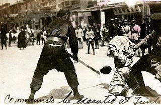 Shanghai massacre Massacre of Chinese communists