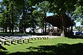 Public square in Metamora, stage with seating.jpg