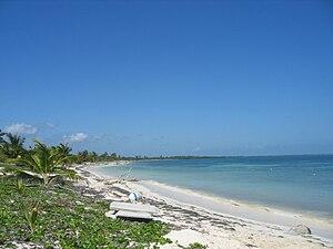 Punta Allen - Beach at Punta Allen, Quintana Roo, Mexico