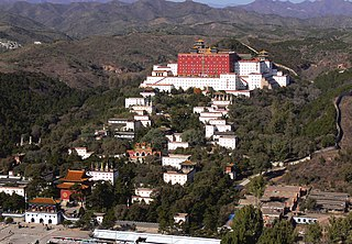 Qing dynasty era Buddhist temple complex