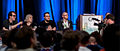 Q&A with cast and directors of Indie Game The Movie at GDC 2012 (cropped).jpg