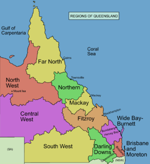 South West Queensland - Regions of Queensland