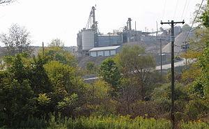 Lower Mahanoy Township, Northumberland County, Pennsylvania - Quarry in Lower Mahanoy Township