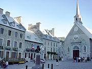 Notre Dame des Victoires church, Basse-Ville (Lower Town).