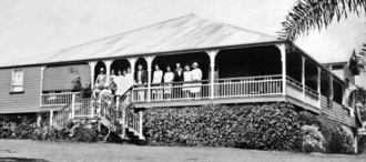 Buderim - Boarding house built in the Queenslander style, Buderim Mountain, December 1930