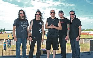 Queensrÿche - Queensrÿche with Todd La Torre in 2012.
