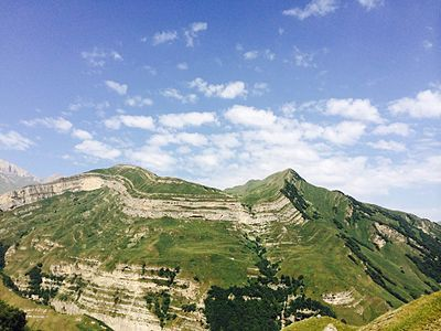 Mountains (Azerbaijan, Qusar, Shahdag National Park)