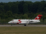 REGA - Swiss Air Ambulance, HB-JRC, Bombardier Challenger 600 (20817246456).jpg