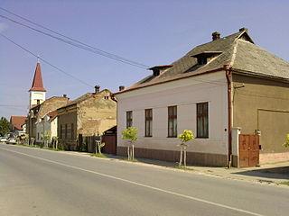 Valea lui Mihai Town in Bihor County, Romania