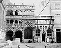 Radoux, Gilbert - Das Eingangsportal zur Kapelle vom Heiligen Blut in Brügge (Zeno Fotografie).jpg