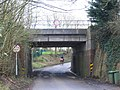 Rail Bridge at Witham Friary - geograph.org.uk - 312383.jpg
