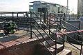 Railings round the lock - geograph.org.uk - 1045716.jpg