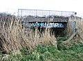 Railway bridge over Hobsons Brook - geograph.org.uk - 750773.jpg