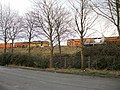 Railway embankment, Riverside, Newport - geograph.org.uk - 1744164.jpg