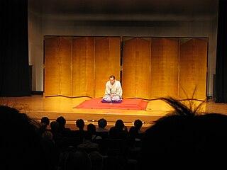 <i>Rakugo</i> Traditional form of Japanese verbal entertainment