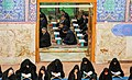 Ramadan 1439 AH, Qur'an reading at Imamzadeh Ibrahim of Dowlatabad, Isfahan - 24 May 2018 01.jpg