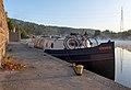 Ramona during golden hour on Quai du Halage in Amay, Belgium (DSCF8028).jpg