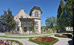 Rankweil St Peter Gässele 1 und 3 Villa und Stickerei Häusle 2.jpg