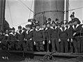 Ranskalainen torpedoristeilijä Temeraire vierailulla Helsingissä - N1935 (hkm.HKMS000005-00000190).jpg