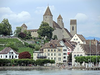 Gerold Späth - Rapperswil, home town and muse of Gerold Späth