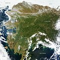 Rare Clear View of Alaska (annotated) (9086229206).jpg