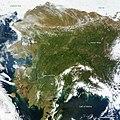Rare Clear View of Alaska (annotated) (9086229206).jpg