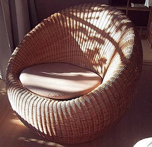 Rattan - Image: Rattan chair