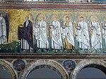 Ravenna, sant'apollinare nuovo, int., santi martiri offerenti, epoca del vescovo agnello, 01.JPG