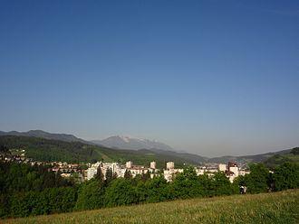 Carinthia (Slovenia) - Typical Lower Carinthian landscape in Ravne na Koroškem.